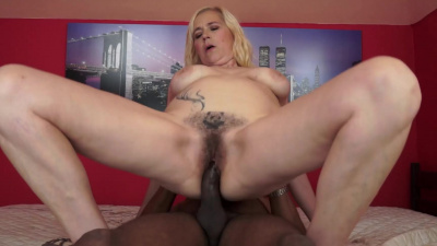 Hung gentleman takes her to sexy granny heaven