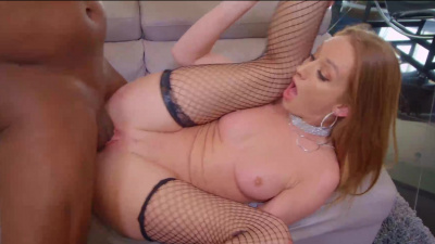 Ass-blessed Daisy Stone sucks black massive boner ass-to-mouth