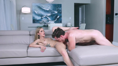 Gorgeous Kali Roses passionate sex with stepbrother