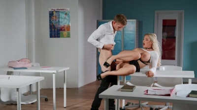 Amber Jade will do anything to make teacher like her