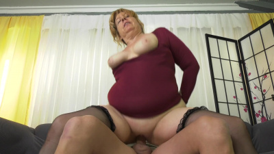 Sex hungry gilf Penny Sue pays with her pussy for her husband's funeral