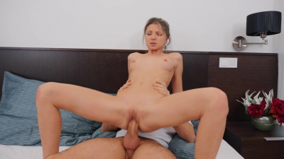 Perky and petite Gina Gerson morning love-making