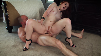 Absolutely adorable Amber Addis making a guy blow his load multiple time