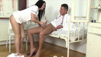 Young cutie Kittina Ivory receives deep pussy checking
