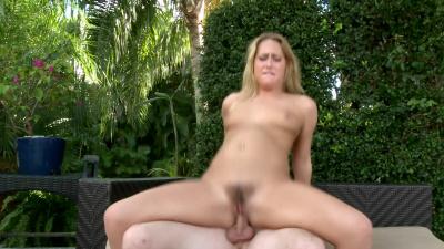 Slim Carter Cruise takes man fertilizer all over her bush