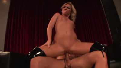 Ally Kay destroyed by a huge dude