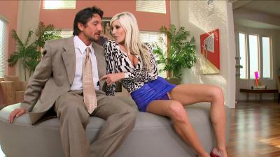Milf bombshell Puma Swede cheats on her fool husband