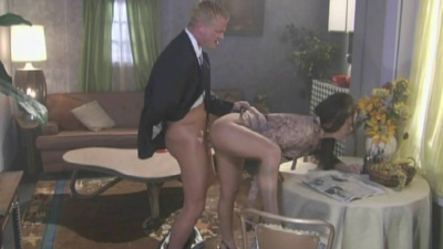 American cougar fucked on a wedding