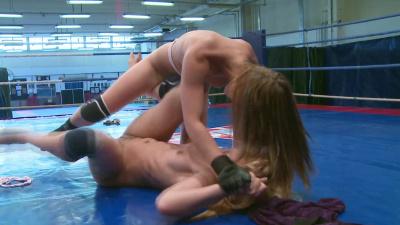 Aleska Diamond and Celine Doll start a serious catfight